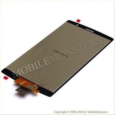 Displejs LG H735 G4 Beat  ar Skārienjūtīgo stiklu Melns