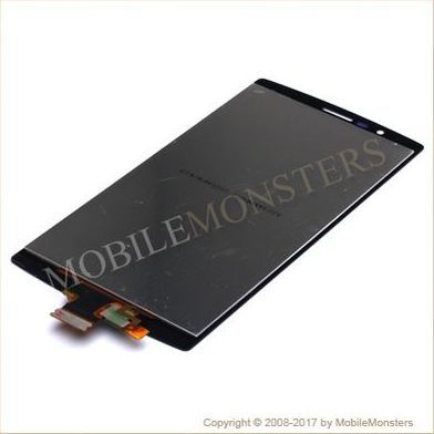 Displejs LG H815 G4 ar Skārienjūtīgo stiklu Melns