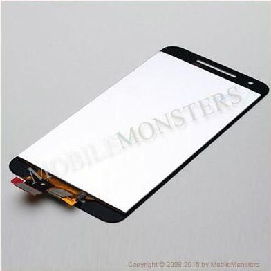 Displejs LG H791 Nexus 5X ar Skārienjūtīgo stiklu Melns