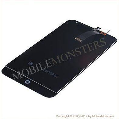 Displejs Meizu MX4 ar Skārienjūtīgo stiklu Melns