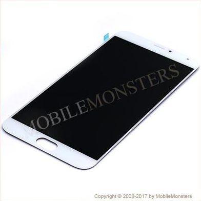 Displejs Meizu MX5 ar Skārienjūtīgo stiklu Balts