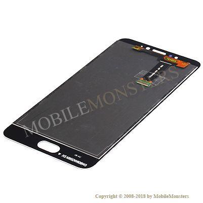 Displejs Meizu MX6 ar Skārienjūtīgo stiklu Melns