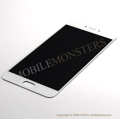 Displejs Meizu MX6 ar Skārienjūtīgo stiklu Balts