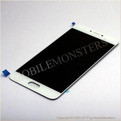 Displejs Meizu Pro 6 ar Skārienjūtīgo stiklu Balts