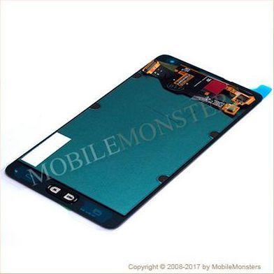 Displejs Samsung SM-A700F Galaxy A7 ar Skārienjūtīgo stiklu Zelts