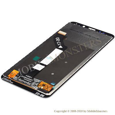 Дисплей Xiaomi Redmi Note 5 (Redmi 5 Plus) с Тачскрином и Стеклом Чёрный