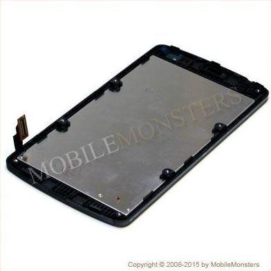 Displejs LG D290 L Fino ar Skārienjūtīgo stiklu un apkart ramiti