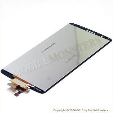 Displejs LG D855 G3 ar Skārienjūtīgo stiklu Pelēks