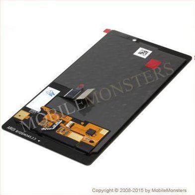 Displejs Nokia 930 Lumia ar Skārienjūtīgo stiklu Melns