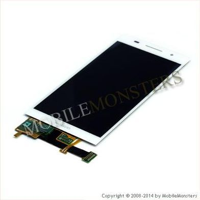 Lcd Huawei Ascend P6 with Touchscreen White