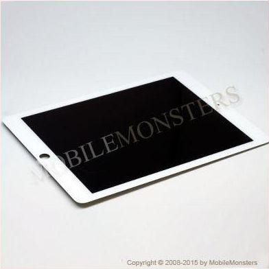 Displejs iPad Air 2 3G ar Skārienjūtīgo stiklu un apkart ramiti *Atjaunots* Balts