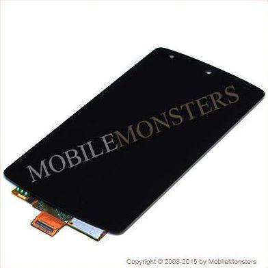Displejs LG D821 Nexus 5 ar Skārienjūtīgo stiklu Melns