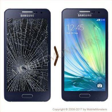 Samsung SM-A500F Galaxy A5 Displeja un stikla maiņa