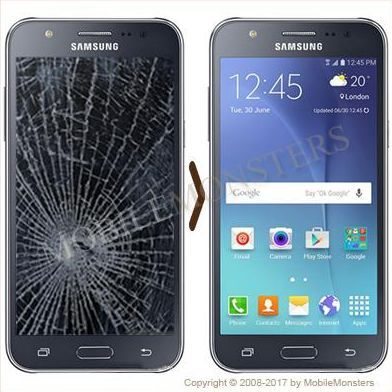 Samsung SM-J500F Galaxy J5 Displeja un stikla maiņa