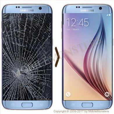 Samsung SM-G935F Galaxy S7 edge Displeja un stikla maiņa