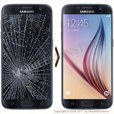 Samsung SM-G930F Galaxy S7 Displeja un stikla maiņa