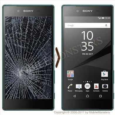 Sony E6653 Xperia Z5 Displeja un stikla maiņa
