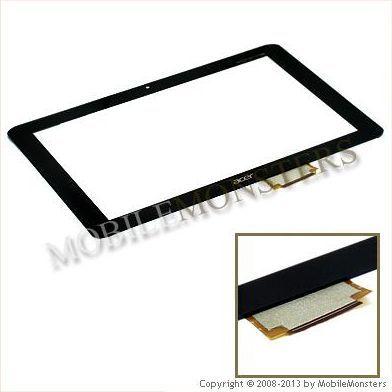 Skārienjūtīgais ekrāns Acer Iconia Tab A200 Melns