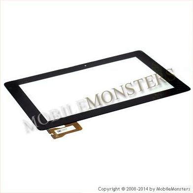Skārienjūtīgais ekrāns Asus MeMo Pad ME301T  Melnā