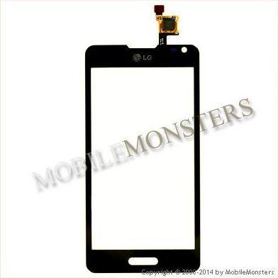 Touchscreen LG D505 Optimus F6 Black