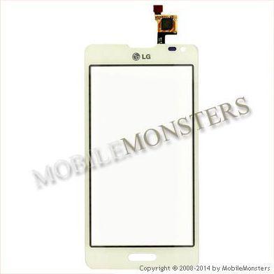 Skārienjūtīgais ekrāns LG D505 Optimus F6 Balts