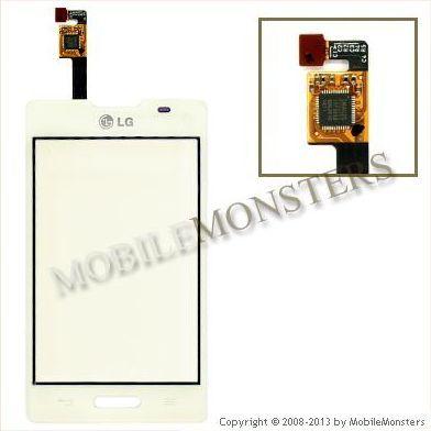 Touchscreen LG E440 Optimus L4 II  White