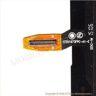 Skārienjūtīgais ekrāns Nokia 535 Lumia Rev 1973