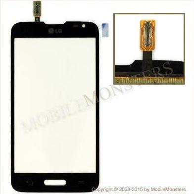Touchscreen LG D320n Optimus L70 Black