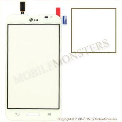 Skārienjūtīgais ekrāns LG D320n Optimus L70 Balts