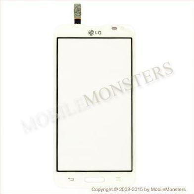 Skārienjūtīgais ekrāns LG D405n Optimus L90 Rev 0.1 Balts