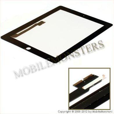 iPad 4gen 3G Skārienjūtīgā stikla maiņa