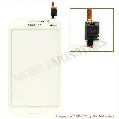 Skārienjūtīgais ekrāns Samsung i9060i Galaxy Grand Neo Plus Balts